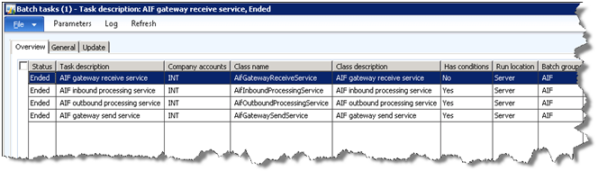 importing customers into dynamics ax 2012 using aif erp