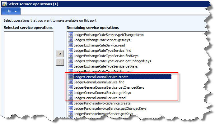 populating missing service operations for aif in dynamics ax 2012